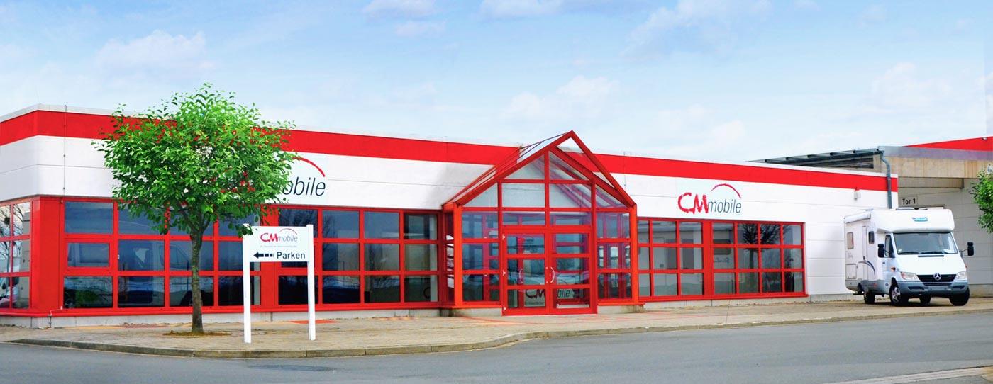 CMmobile Standort Halberstadt Wohnmobilhändler